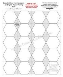 hexagon templates just in case i ever have the urge to drive