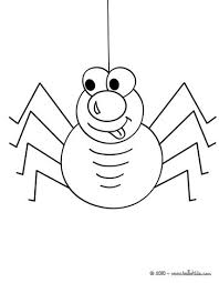 lovely arachnid coloring pages hellokids