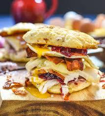 leftover thanksgiving breakfast sandwich ohio eggs