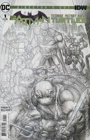 batman teenage mutant ninja turtles 2015 dc comic books
