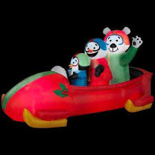 Animated Inflatable Christmas Yard Decorations by Arctic Outdoor Christmas Decorations Christmas Decorations