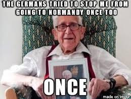 Veteran Meme - bernard jordan year old ww veteran who sneaked away to normandy