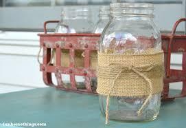 Mason Jar Vases Burlap And Twine Mason Jar Vases Fun Home Things