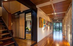 shipping container home interior shipping containers just got the inevitable mansion treatment