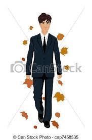 clipart uomo autunno elegante isolato uomo isolato illustrazione