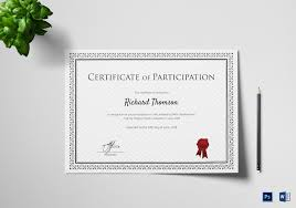 business certificate templates service training certificate how to