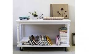 changing table with wheels make your own side table on wheels care2 healthy living