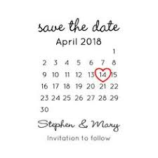 Save The Date Stamps Save The Date Stamp Set Two Stamps Wedding Calen U2026 Neutral