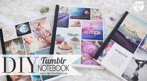 diy inspired notebooks a little craft in your day