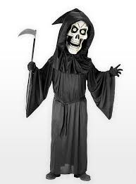 Grim Reaper Costume Reaper Costume With Giant Mask