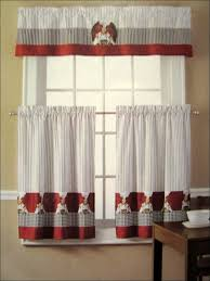 elegant coffee themed kitchen curtains taste