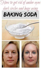 how to get rid of under eyes dark circles and bags using baking