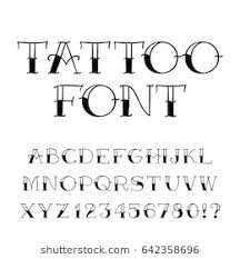 old latin tattoo fonts tattoo font images stock photos vectors shutterstock