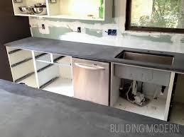 Ikea Countertop Kitchen Diy Concrete Countertops U2013 Reveal