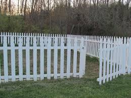 diy garden fence using picket fence panels hometalk