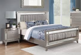 Mirror Bed Frame Brazia Mirrored Bedroom Furniture