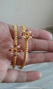 gold coral bangle design bangle gold and