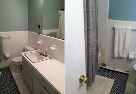 A Simple Inexpensive Bathroom Makeover For Renters - Simple bathroom makeover