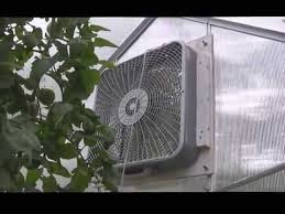 ventilation fans for greenhouses harbor freight greenhouse fan youtube