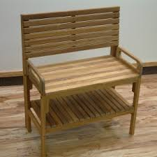 bathroom design cozy teak shower bench for exciting bathroom