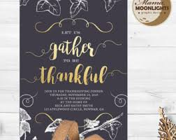 thanksgiving invite etsy
