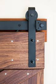 Sliding Bypass Barn Door Hardware by Classic Flat Track Sliding Barn Door Hardware Real Sliding