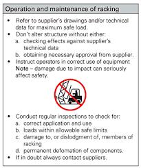 pallet racking fact sheet safework nsw