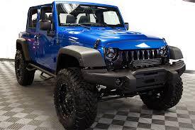 blue jeep 2016 jeep wrangler sport unlimited hydro blue