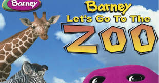 barney let u0027s go to the zoo youtube