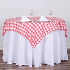 wedding linens for sale square checked gingham polyester tablecloth dinner wedding linens