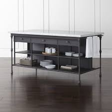 kitchen islands black kitchen islands carts serving tables crate and barrel