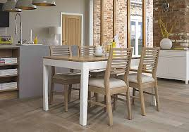 white wash dining room table alluring dixon white washed oak dining chair furniture village in