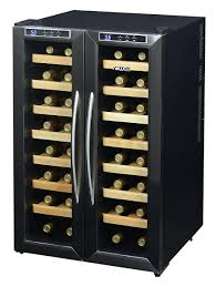 newair aw 321ed 32 bottle dual zone thermoelectric wine cooler
