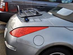 red nissan 350z nissan 350z convertible luggage rack
