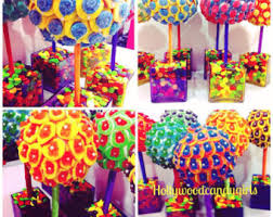 Candy Topiary Centerpieces - candy topiary etsy