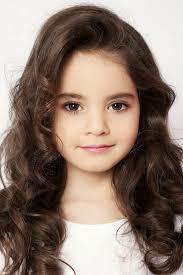 hair cute for 6 year old girls elizabeth zarova brown eyes brown hair long 6 years old model kids