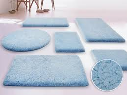 Bathroom Carpets Rugs Carpet Rug Bathroom Rug In Light Blue Also White Ceramics