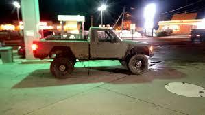 jeep comanche lifted barn off road comanche