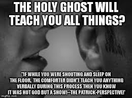 Holy Jesus Meme - comforter john 14 26 not the holy ghost just give them the truth