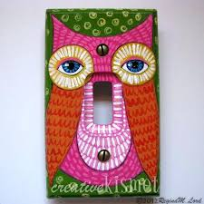 painted light switch covers best crafts light switch covers images on painted light switch