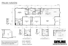 manufactured homes home palm haven 3410 ct cho layout
