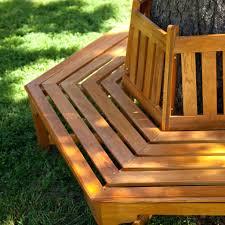 Circular Bench Around Tree Build Bench Around Tree Trunk Backless Wooden Benches Wrap Around