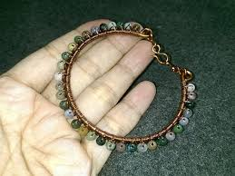 wire jewelry bracelet images How to make wire jewelry bracelets with small stones 137 jpg