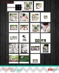 Wedding Picture Albums Like Layout Would Be Better With Less Wasted White Space Esp Top