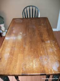 Dining Room Table Makeover Ideas Refinishing The Dining Room Table