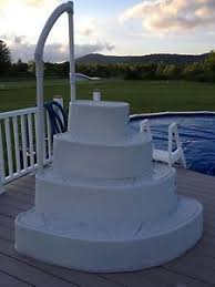 wedding cake pool step for above ground pool on popscreen