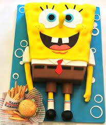 spongebob squarepants cake check out home made carrot cake it s so easy to make lost
