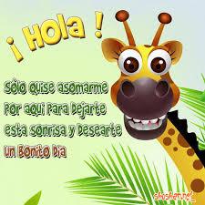 imagenes de amistad jirafas imágenes gratis de buenos días hola sólo quise asomarme por aquí