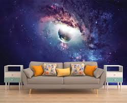 galaxy mural space wallpaper outer space wall mural stars zoom