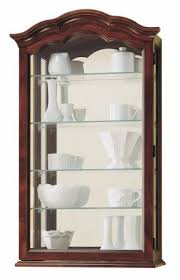 Curio Cabinets Pair Small Wall Curio Cabinet Foter